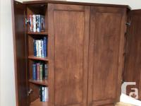 "Maple Corner TV Cabinet. Fits up to a 40"" TV, plus a"