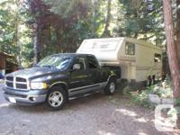 1990 23 ft. Corsair Fifth Wheel, Good condition, no