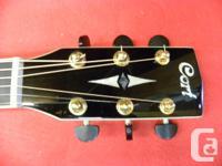 Cort 6 String Cutaway Acoustic Electric Guitar, model #