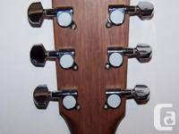 $175 obo CORT ACOUSTIC guitar - model AF510 NS.