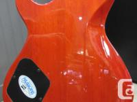Cort M600 Mahogany Body and Neck with flame maple top-