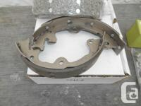 Fit 68-82 vettes. Complete parking brakes set-up: shoes