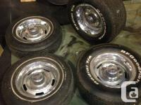 Amazing condition corvette rally wheels.....15''   give