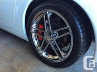 4 Chrome Staggered wheels coming off a 2005 Corvette. for sale  British Columbia