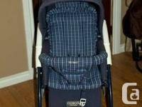 We have for sale a Cosco double stroller, in excellent