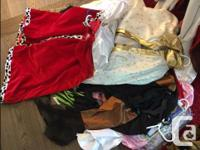 I have MANY costumes. Either never worn, or only worn