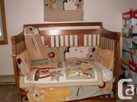 Gorgeous exchangeable baby crib. Baby crib, kid bed to