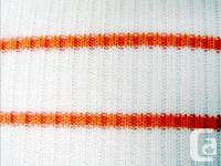 Coton Belt - Long Sleeve Knit Top - 100% cotton, orange