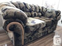 Set of super comfortable fabric 3 person couch and live
