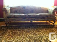 Matching couch and love seat in good condition