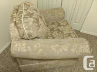 Couch and Marching Arm Chair in excellent condition.