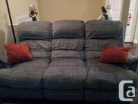 I am selling my two piece couch set. First picture