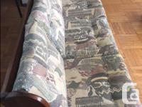 Sturdy couch and arm chair. No stains, good condition,