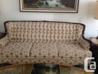 Beautiful French Provincial Couch and Chair set,