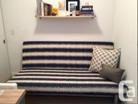 Moving sale! Couch/futon originally from ikea with a