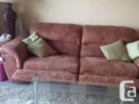 from Ashley Furniture both pieces recline asking $200