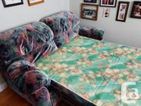 This is a sofa bed, double bed, in mint condition used