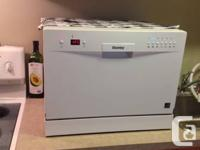 Danby Countertop Dishwasher - bought new October 2013