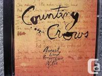 Price cut in half ! Counting Crows CD - August and