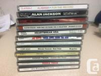 Country Artists 1 & 2. Alabama- Double Album 3. Alan