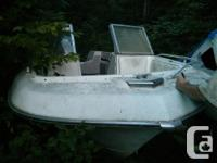 Courier 231, 6 place, Fiberglass watercraft with Suzuki