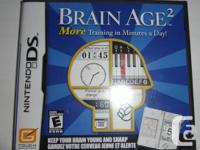 SEALED-BRAND NEW BRAIN AGE 2 COMPUTER GAME FOR NINTENDO