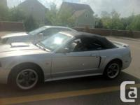 2002 Horse GT had since new, garage area keepinged,
