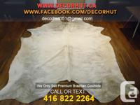 Brazilian and argentinan A+ cowhide rugs
