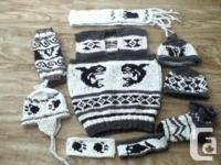 vests $150 and up , sweaters 250 and up, socks $40,