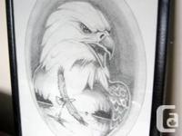 Fine art - Eagle Limited Version Publish. Qualicum