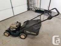 "21"" self propelled front wheel drive lawn mower Powered"