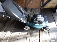 Used Craftsman 22 inch mulcher Lawnmower with 6.00 hp