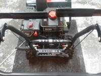 As new condition Craftsman 24 in 9 hp dual stage