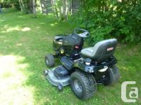 One year old 26 Hourse power Briggs and Stratton motor,