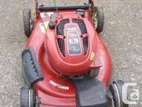 """Nice mower--6.5 hp 21"""" cut---primer system--starts and"""