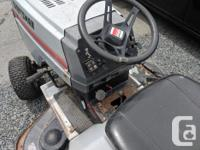 Top-end riding mower from the 90's. 6speed, 20hp Kohler