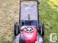 Craftsman lawnmower with Briggs and Stratton Platinum