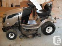 Craftsman 22.0hp, 42 inch lawn tractor, model