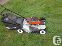 Craftsman self propelled lawnmower 5.5 horsepower .