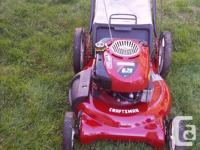 "Sears Craftsman Lawnmower. Push (no assist drive) 21"""