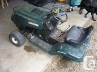 This is a partial mower, there is no motor,