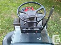 1992 Craftsman 12.5 hp ride on mower. Tractor in very