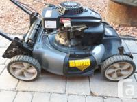 Selling a Craftsman Self propelled lawn mower. Starts