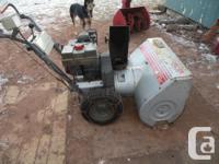 i have a craftsman snowblower its a 12 hp 32 inch cut