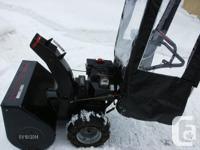 Craftsman snow blower for sale 10 hp Tecumseh engine