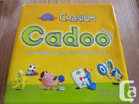 This is a Cranium Cadoo game in a keepsake tin. All