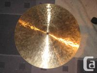 """For sale 17"""" Paiste. Mellow crash. Cymbal is from the"""