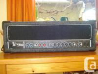 I'm selling my Crate B-150, 150 watt bass amp, works