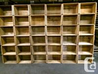Wood Boxes, Antique Crates, Industrial, Apple Crates