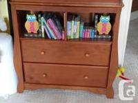 beautiful baby bedroom set! Crib was never used ! In